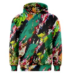 Tulips First Sprouts 2 Men s Pullover Hoodie