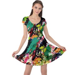 Tulips First Sprouts 2 Cap Sleeve Dress