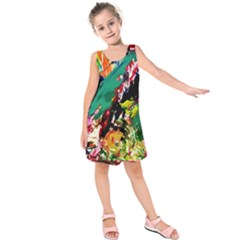 Tulips First Sprouts 2 Kids  Sleeveless Dress