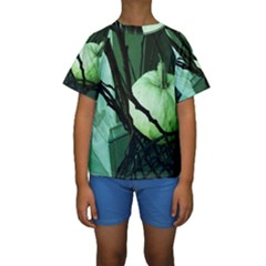 Pumpkin 7 Kids  Short Sleeve Swimwear