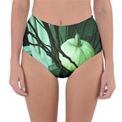Pumpkin 7 Reversible High Waist Bikini Bottoms