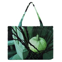 Pumpkin 7 Zipper Medium Tote Bag