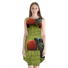 Pumpkins 10 Sleeveless Chiffon Dress
