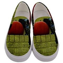 Pumpkins 10 Men s Canvas Slip Ons