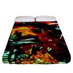 Grand Canyon Sunset Fitted Sheet (queen Size)