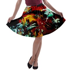 Grand Canyon Sunset A Line Skater Skirt