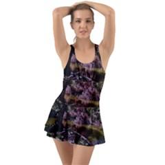 Old Tree 6 Ruffle Top Dress Swimsuit