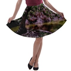 Old Tree 6 A Line Skater Skirt