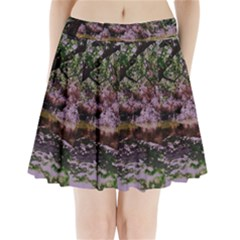 Old Tree 6 Pleated Mini Skirt
