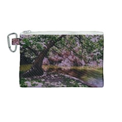 Old Tree 6 Canvas Cosmetic Bag (medium)