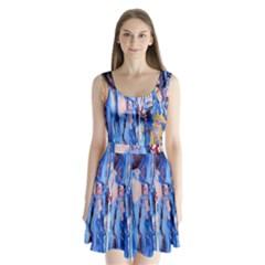 1 Split Back Mini Dress