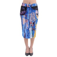 Point Of View 3/1 Midi Pencil Skirt by bestdesignintheworld