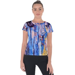 Point Of View 3/1 Short Sleeve Sports Top  by bestdesignintheworld