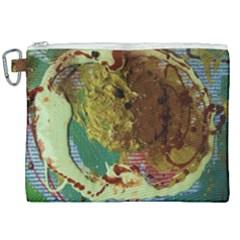 Doves Matchmaking 2 Canvas Cosmetic Bag (xxl) by bestdesignintheworld
