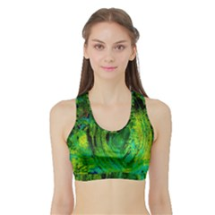 One Minute Egg 5 Sports Bra With Border