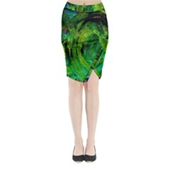 One Minute Egg 5 Midi Wrap Pencil Skirt