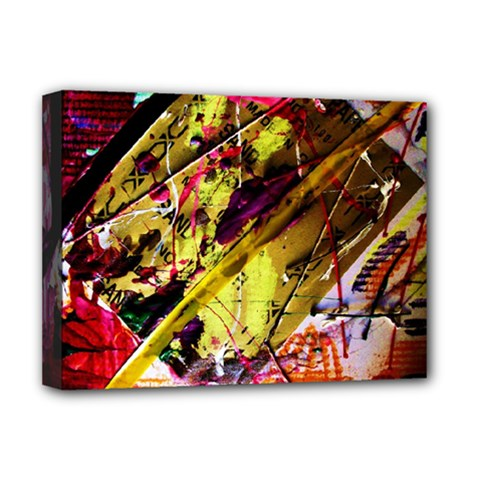 Absurd Theater In And Out 12 Deluxe Canvas 16  X 12   by bestdesignintheworld