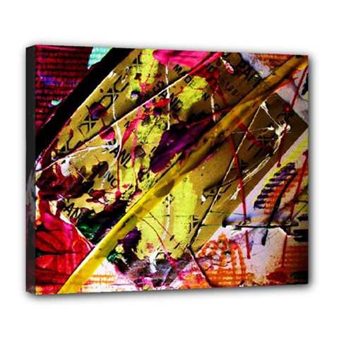 Absurd Theater In And Out 12 Deluxe Canvas 24  X 20