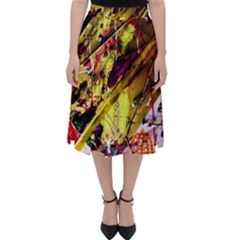 Absurd Theater In And Out 12 Folding Skater Skirt by bestdesignintheworld