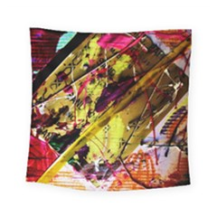 Absurd Theater In And Out 12 Square Tapestry (small) by bestdesignintheworld