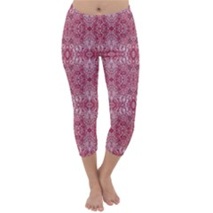 Colorful 28 Capri Winter Leggings