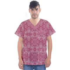 Colorful 28 Men s V Neck Scrub Top