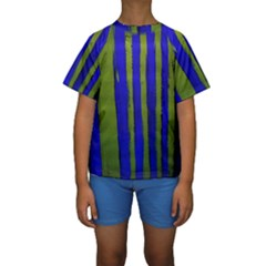 Stripes 4 Kids  Short Sleeve Swimwear