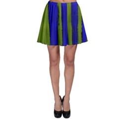 Stripes 4 Skater Skirt