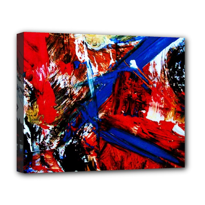 Mixed Feelings 9 Deluxe Canvas 20  x 16