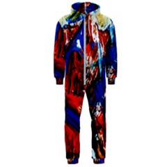 Mixed Feelings 9 Hooded Jumpsuit (men)