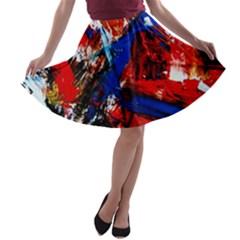 Mixed Feelings 9 A Line Skater Skirt