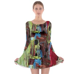 Point Of View 9 Long Sleeve Skater Dress