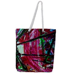 Sacred Knowledge 9 Full Print Rope Handle Tote (large)