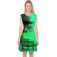 Lake Park 20 Capsleeve Midi Dress