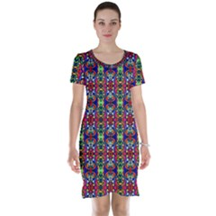 Colorful 30 Short Sleeve Nightdress