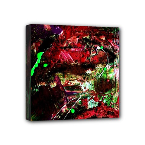 Bloody Coffee 2 Mini Canvas 4  X 4  by bestdesignintheworld