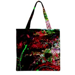 Bloody Coffee 2 Grocery Tote Bag by bestdesignintheworld
