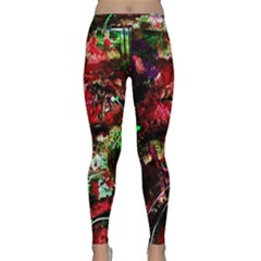 Bloody Coffee 2 Classic Yoga Leggings