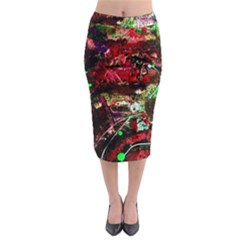 Bloody Coffee 2 Midi Pencil Skirt by bestdesignintheworld