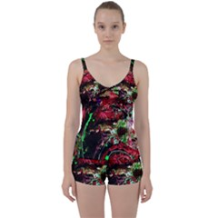 Bloody Coffee 2 Tie Front Two Piece Tankini