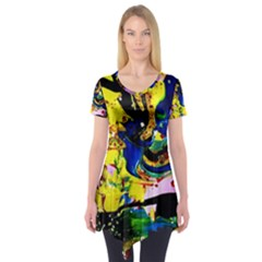 Yellow Roses 2 Short Sleeve Tunic
