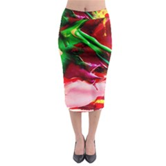 Red Cross 4 Midi Pencil Skirt by bestdesignintheworld