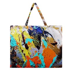Africa  Kenia Zipper Large Tote Bag