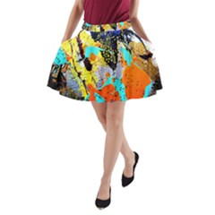 Africa  Kenia A Line Pocket Skirt by bestdesignintheworld