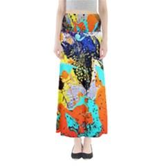 Africa  Kenia Full Length Maxi Skirt