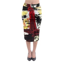 Collosium   Swards And Helmets 8 Midi Pencil Skirt