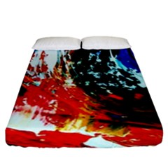 Mixed Feelings 4 Fitted Sheet (king Size)