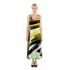 Grave Yard 6 Sleeveless Maxi Dress