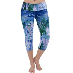 Close To Pinky,s House 9 Capri Yoga Leggings