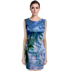 Close To Pinky,s House 9 Classic Sleeveless Midi Dress